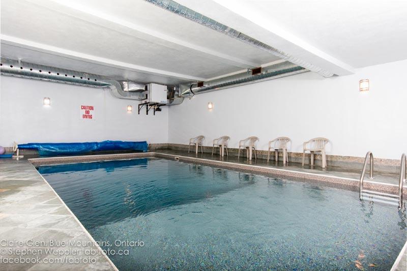 Claire Glen Chalet: Indoor Pool